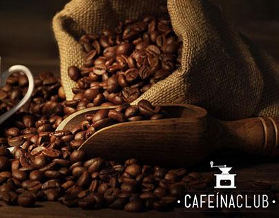 Cafeína Club - Visual Identity