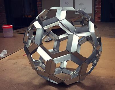 Tin Sheet Bucky Ball