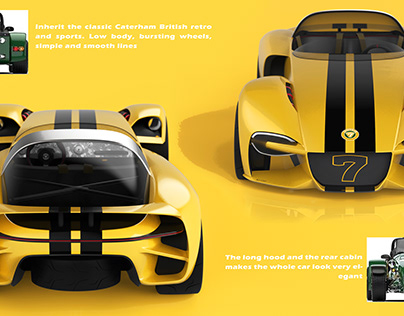 Caterham Dreacing 7 Concept