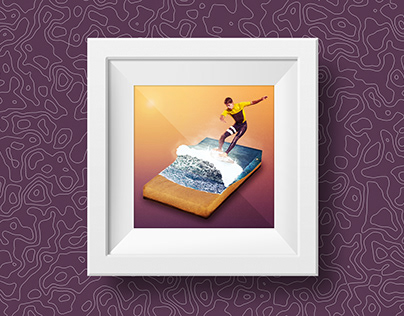 Surfer Island - Image Manipulation
