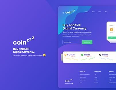CoinZzz - Ctypro Platform