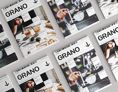Proyecto Editorial | GRANO Magazine