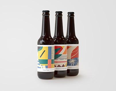 Second Wave Brewing Branding & Packaging