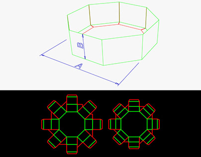 Carton - Polygonal boxes