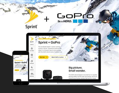 Sprint + GoPro