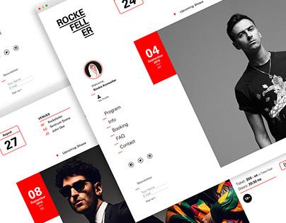 Rockefeller Oslo – Website Redesign