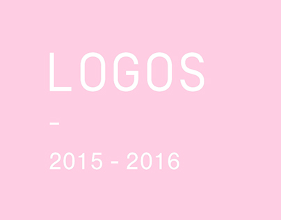 Logos 2015 - 2016