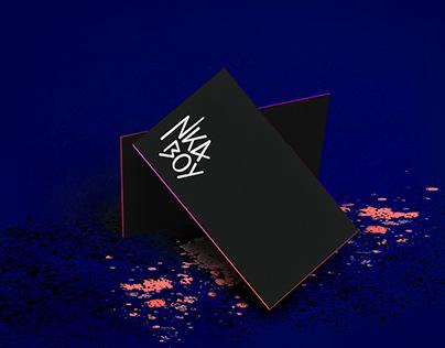 NKABOY Branding for a Design Label