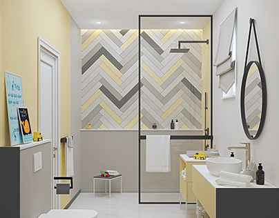 Options for the kids bathroom