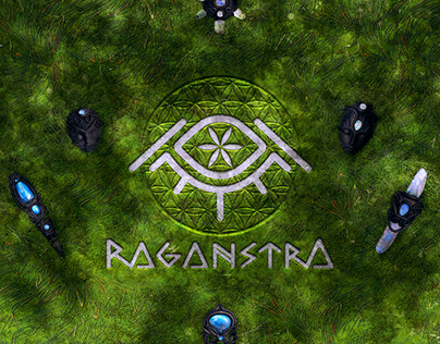 Raganstra Jewelery (Logo & Cover Art)