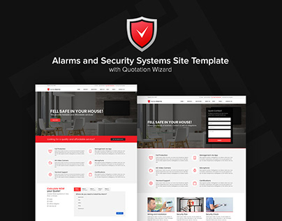 HomeAlarms - Alarms and Security Systems Site Template