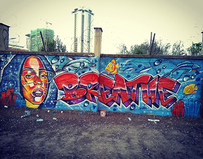 exterior graffiti