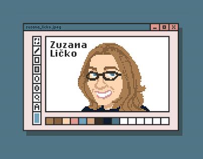 Zuzana Licko Poster