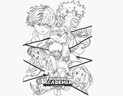 Myheroacademia Projects Photos Videos Logos Illustrations And Branding On Behance