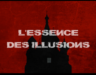 Film credits animation