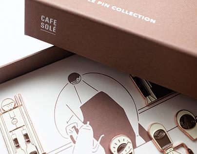 CAFE SOLÉ Pin Collection