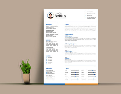 Resume Template package || 2018