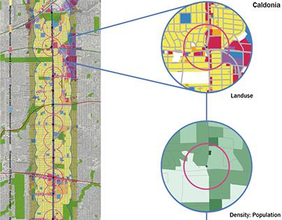 Eglinton Crosstown Study - GIS analysis