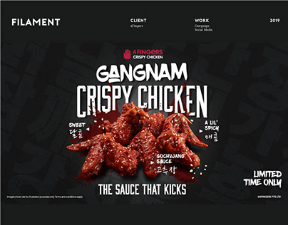 GANGNAM CRISPY CHICKEN