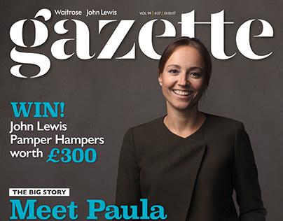 John Lewis Gazette Cover Interview project