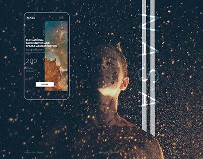 NASA Website Design Concept