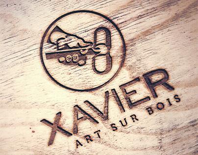 Xavier - Art sur bois