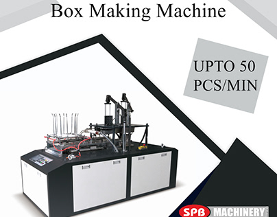 BFM 2000- Automatic Box Forming Machine