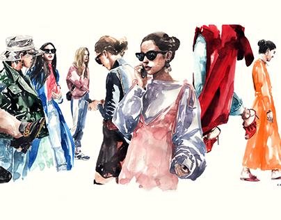 kasiq Fashion Illustration Series 9
