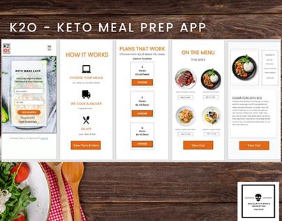 K2O Meal Prep App
