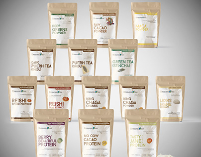 Super Foods branding