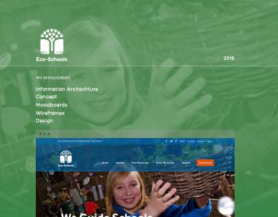 Eco-Schools - Website Design