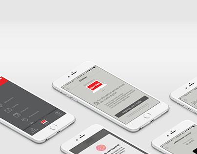 BAM - Mobile banking app design