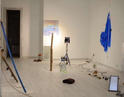group exhibition MONTAGE. total installation