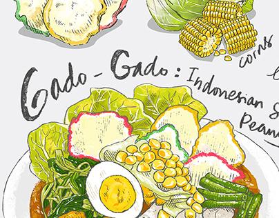 Gado & Grill Recipe Illustration