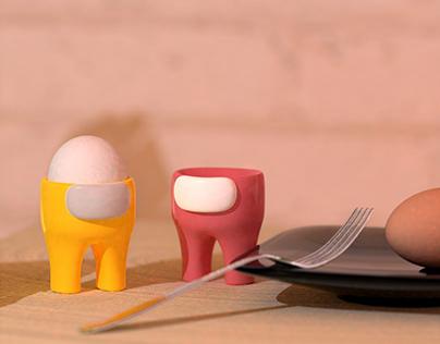 Among Eggs