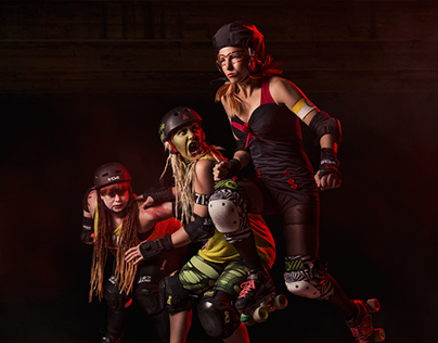 The Royal Swedish Roller Derby (with BTS video)