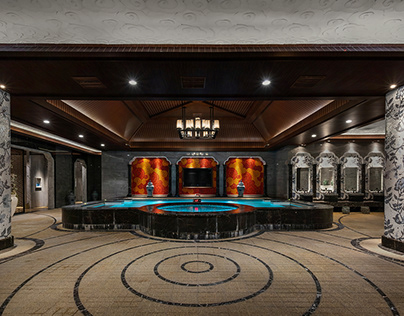 Traditional Chinese Style SPA   Interior Design