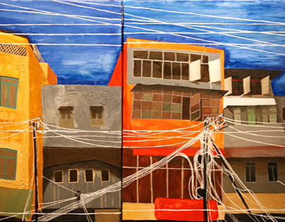 WireCity : a series of paintings