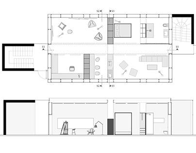 Interior Spatial Organization and Design Project I-II