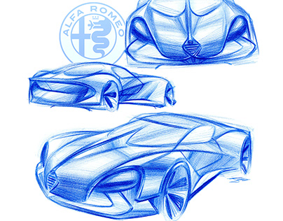 2018 -2017 Automotive Design Sketches