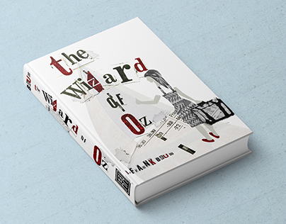 The Wizard of Oz: Modern Book Cover