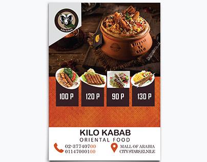 Kilo Kabab Flyer