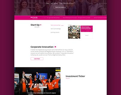 DE News design