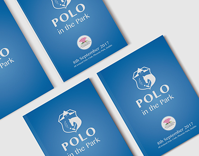 Polo in the Park Brochure and other pieces