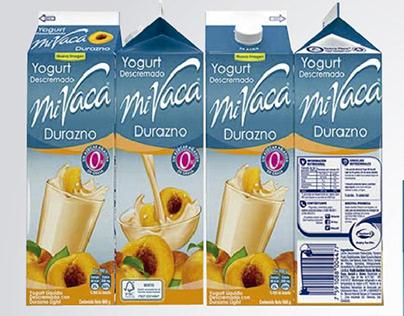 Packing Yogurt Frutta Gialla Mi Vaca
