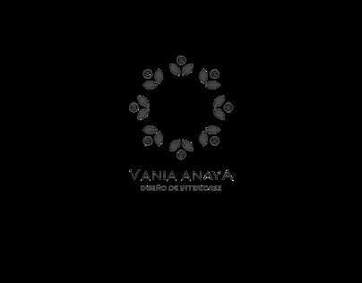 "Logotipo ""Vania Anaya"""