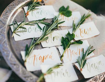 BBQ Wedding stationery