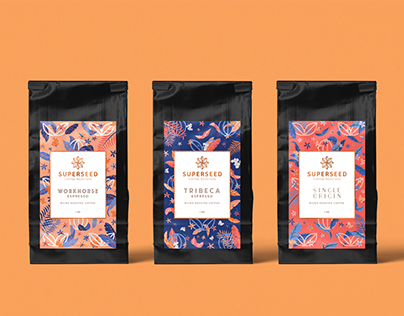 Superseed Coffee Roasters – Brand Identity