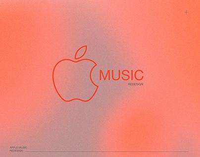 Apple Music UI Redesign
