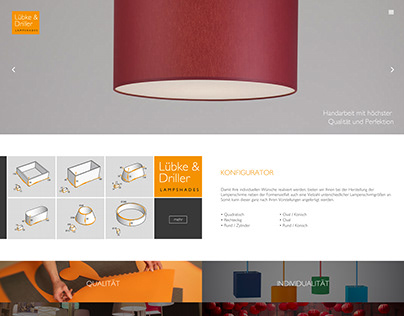 Webdesign for Lübke & Driller
